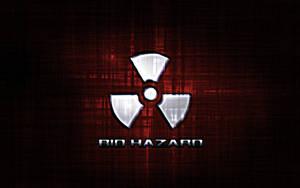 Biohazard Wallpaper Red