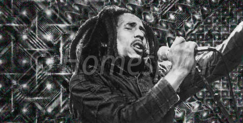Bob Marley B1 - 11x21 (WaterMark)