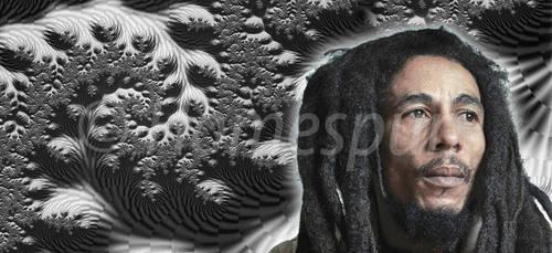 Bob Marley B2 - 12x27 (WaterMark)