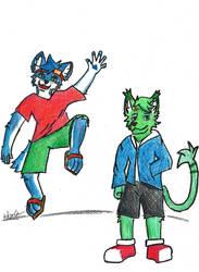 [reupload] Taiyo and Neiru