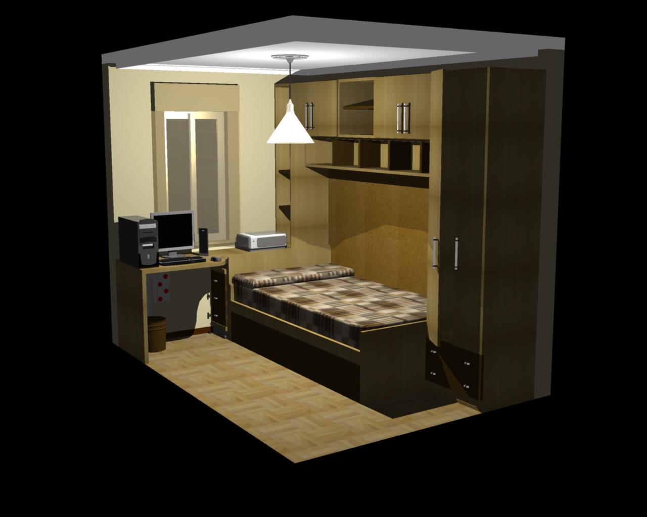 Habitacion 3d by jvalle on deviantart for Planificador habitacion 3d