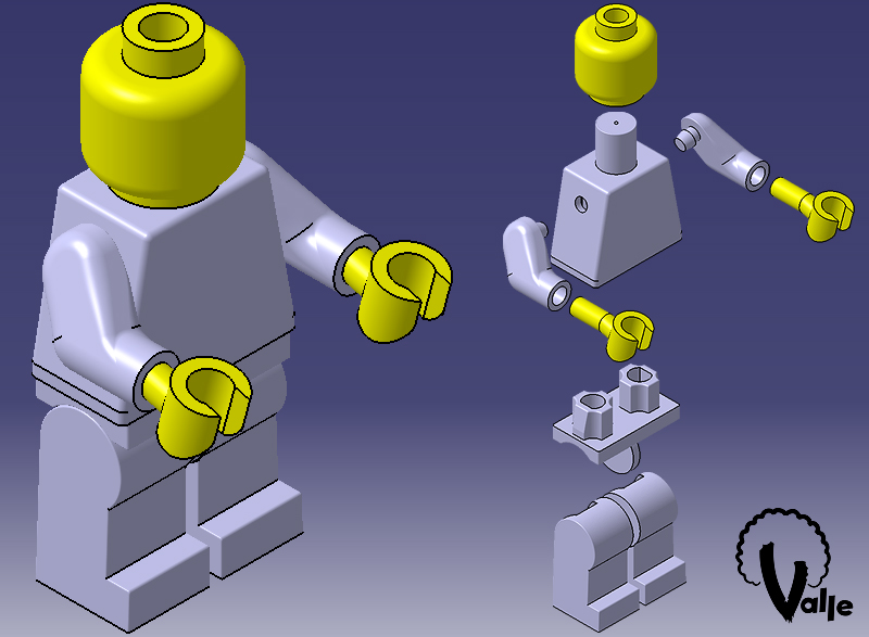 Lego Catia V5 by JValle