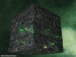 Borg Cube by Magmarama