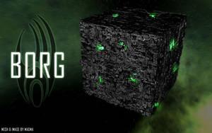 Borg Cube 2005 by Magmarama