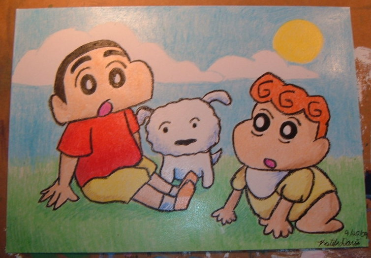 Crayon Shin-Chan by Lady-KL