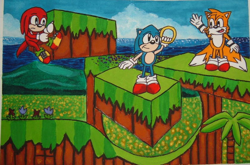 Emerald Hill Zone By Lady Kl On Deviantart