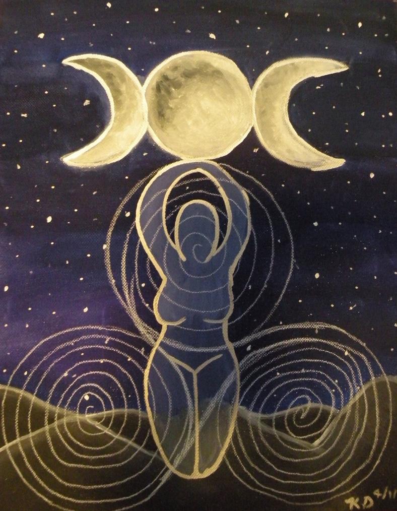 Triple goddess by lady kl on deviantart triple goddess by lady kl biocorpaavc