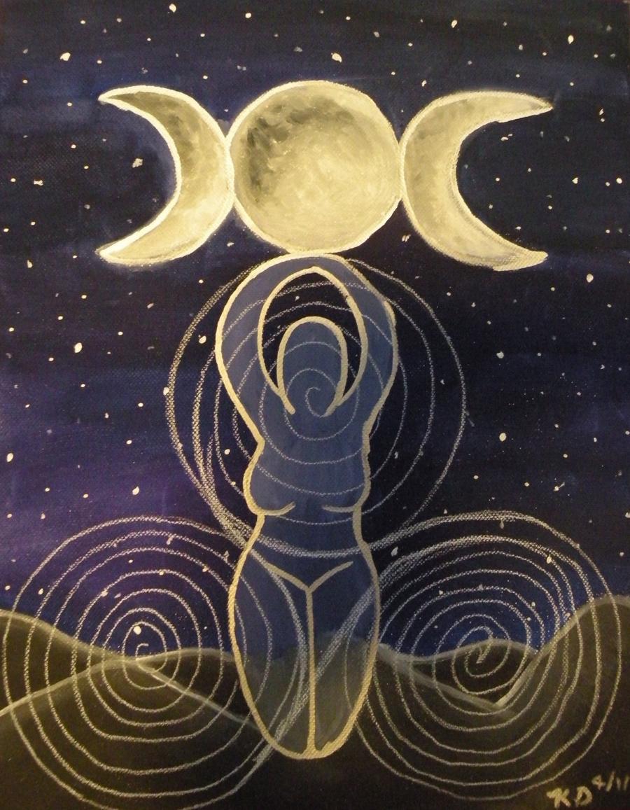 Triple Goddess by Lady-KL on DeviantArt