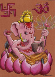 Lord Ganesha by Lady-KL