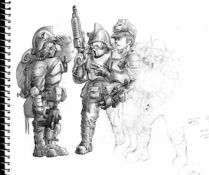 Corporation Troopers WIP