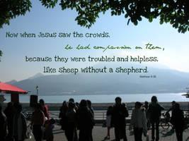 Without a Shepherd by deng-li-xin32