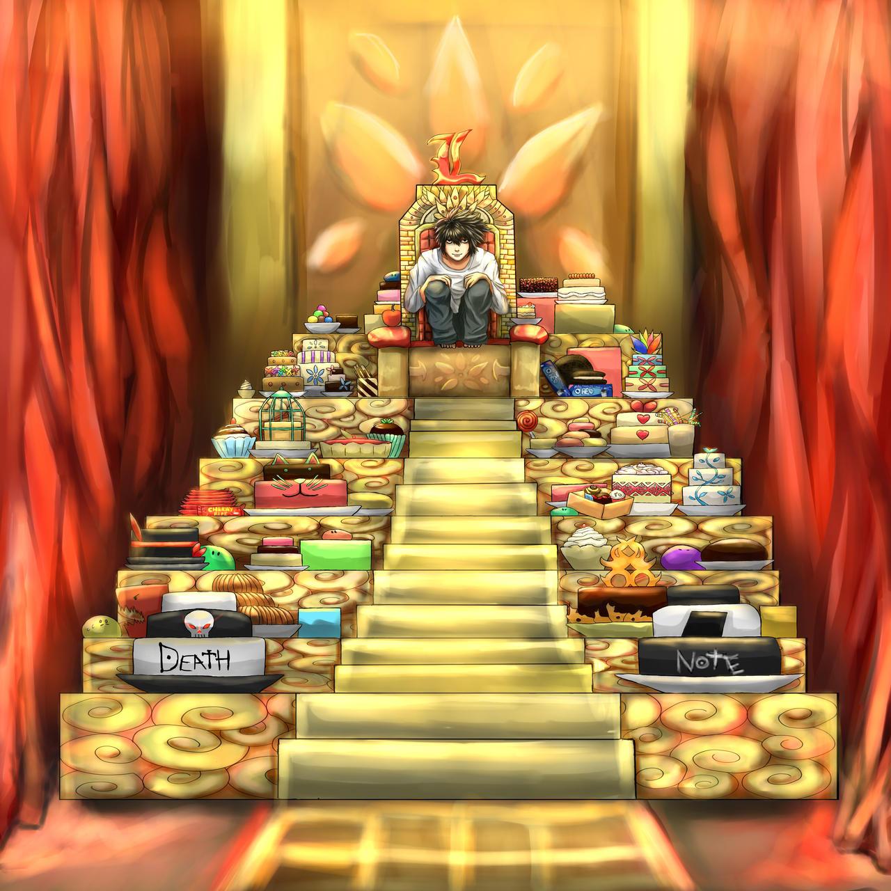 DN: L's Food Pyramid by Bluemisti