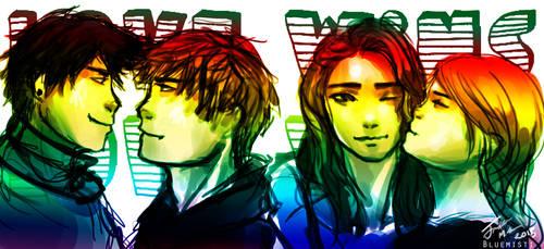 Love Wins! by Kureenbean