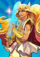 She-Ra (again) by Kureenbean