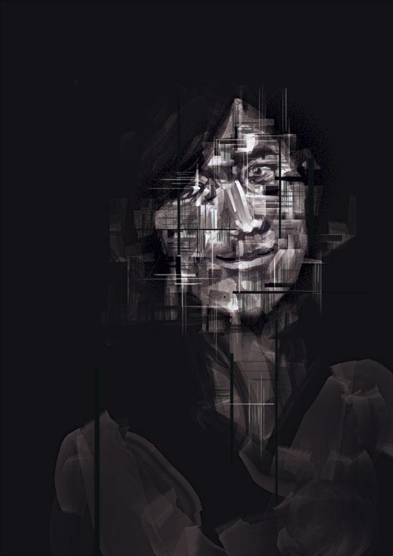Portrait of Vero 2 by gringoloco