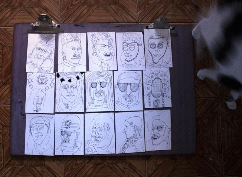 Dibujos Cajon BLAK MAMA by gringoloco