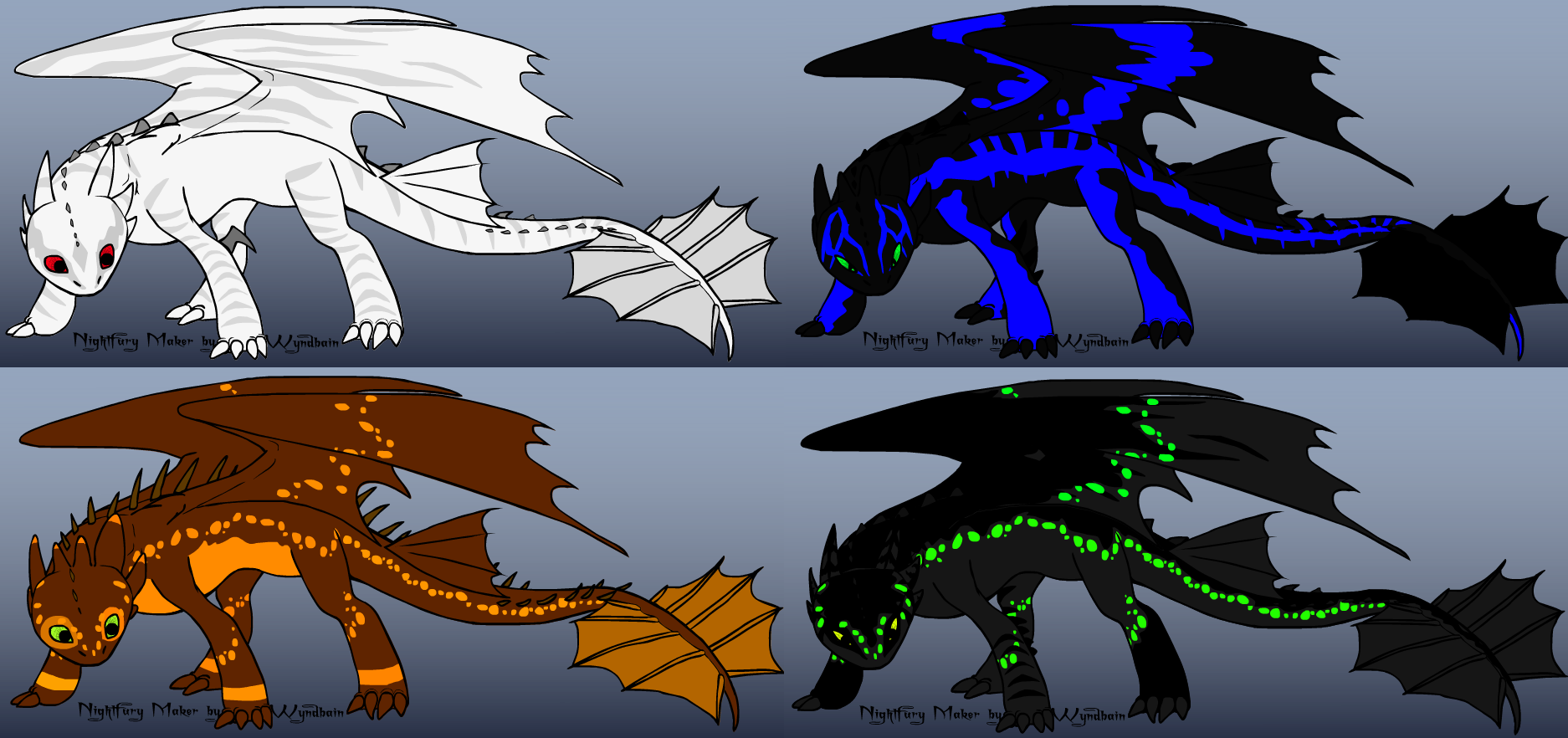 Free Night Fury Adopts CLOSED by Artistica526 on DeviantArt