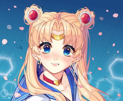 Challenge redraw SailorMoon~