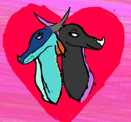 Glorybringer (late valentines artwork) by redheadgirl1
