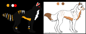 Wolf Adoptables 1 :CLOSED:
