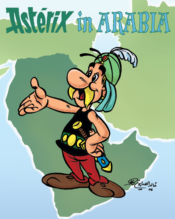 Asterix in Arabia by kh27s