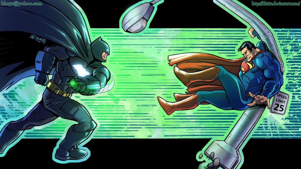 Batman v Superman by kh27s