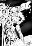 The Last Son of Krypton - Inks by kh27s