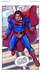 Brandon Routh As Kingdom Come Superman by kh27s