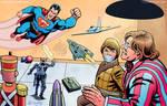 Superman vs Toyman by kh27s