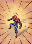 Spider-Sense colored by kh27s