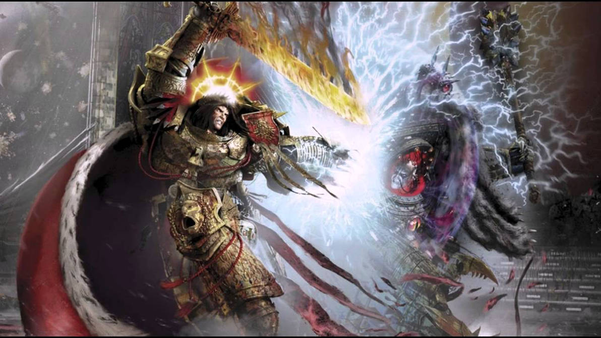 Horus Lupercal burns the Galaxy in DEATH BATTLE! by