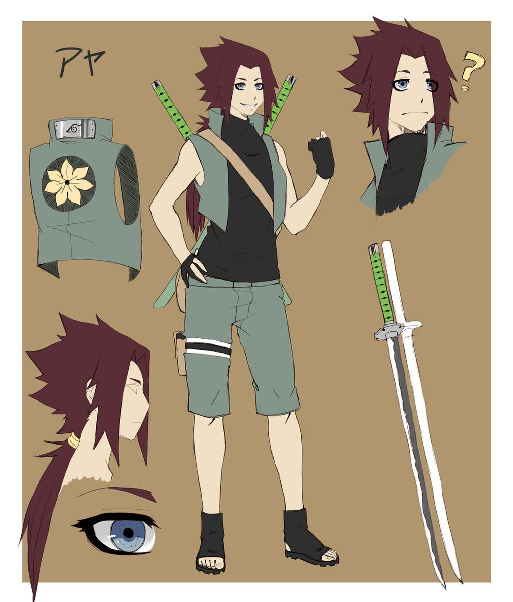 Naruto Oc Aya By Minamino18sayuri On Deviantart