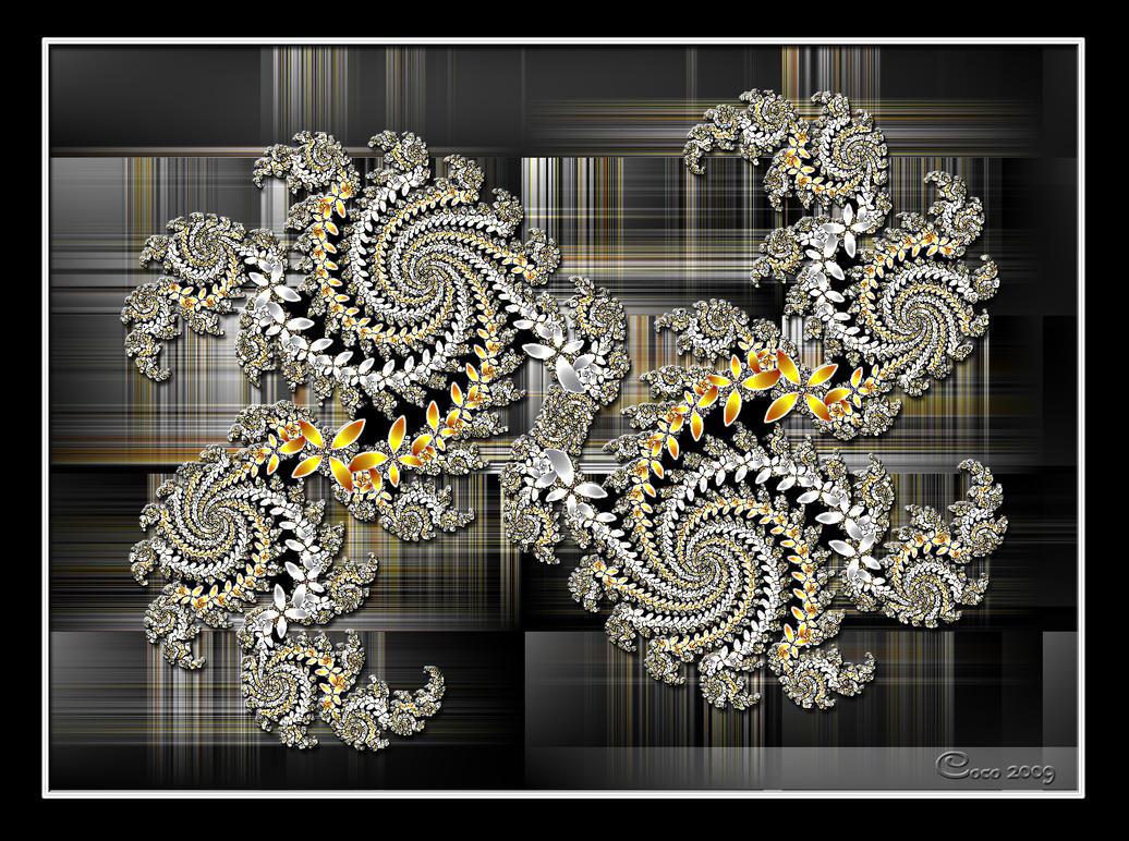 Spirals on Check by kayandjay100