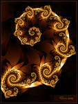 Spiralling Embers
