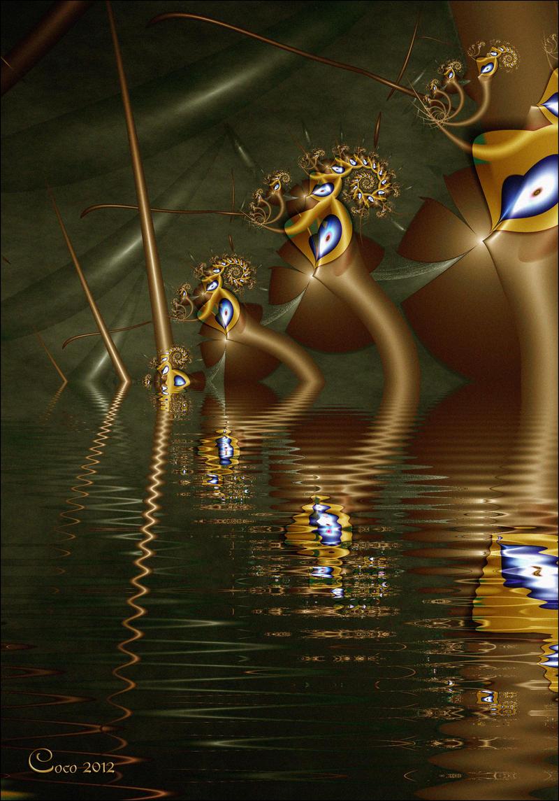 Alien Lagoon by kayandjay100