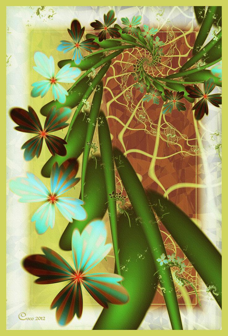 Cascade de Fleurs by kayandjay100