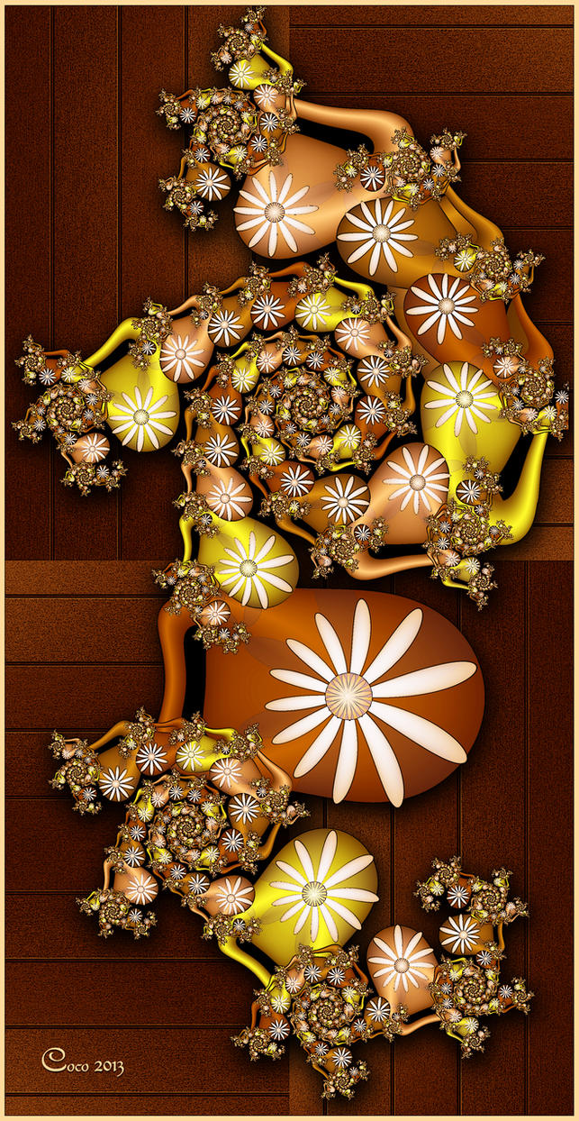 Bifolium on Planks by kayandjay100