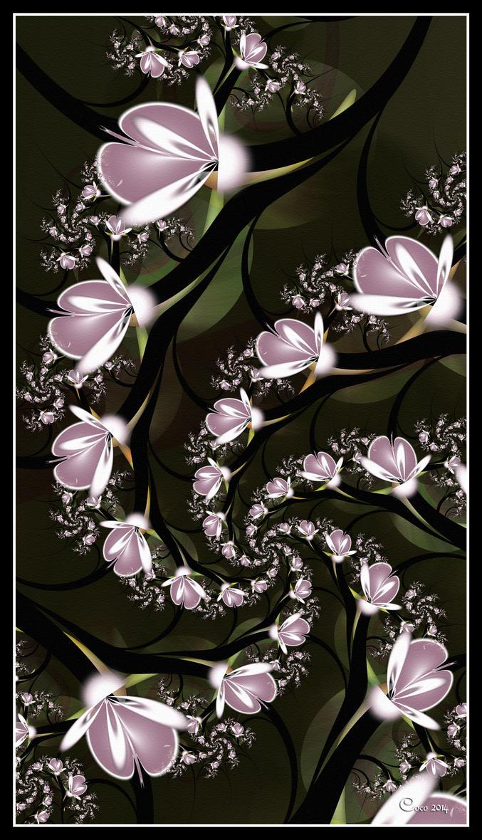 Spiralling Magnolias by kayandjay100