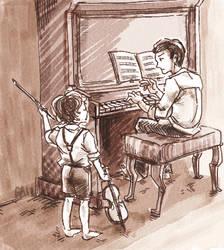 Duo by gataro