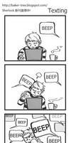 Fan comics :Texting