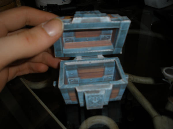 My first papercraft by sauerkraus