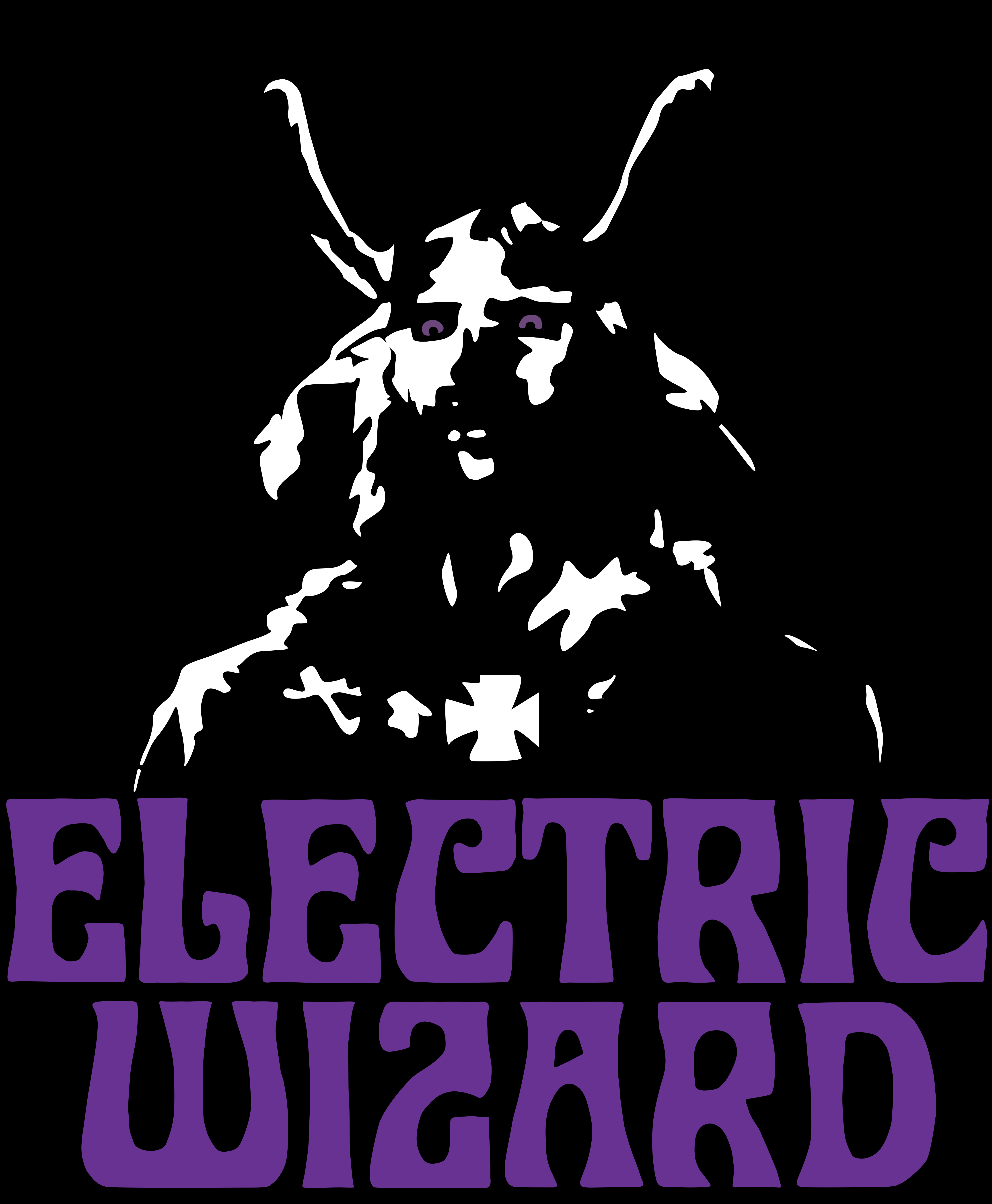 Electric Wizard t-shirt New Vector