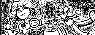 Miiverse: - Rock N' Roll: Daisy and Luigi - by Erynfalls