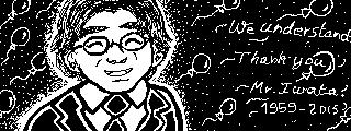 Miiverse: - We understand: Satoru Iwata - by Erynfalls