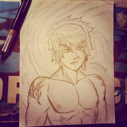 - Random Tattoo Boy - by Erynfalls