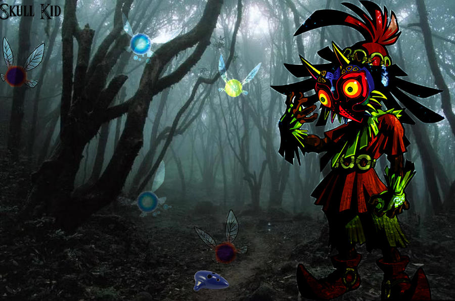 Skull Kid By Mr123Spiky