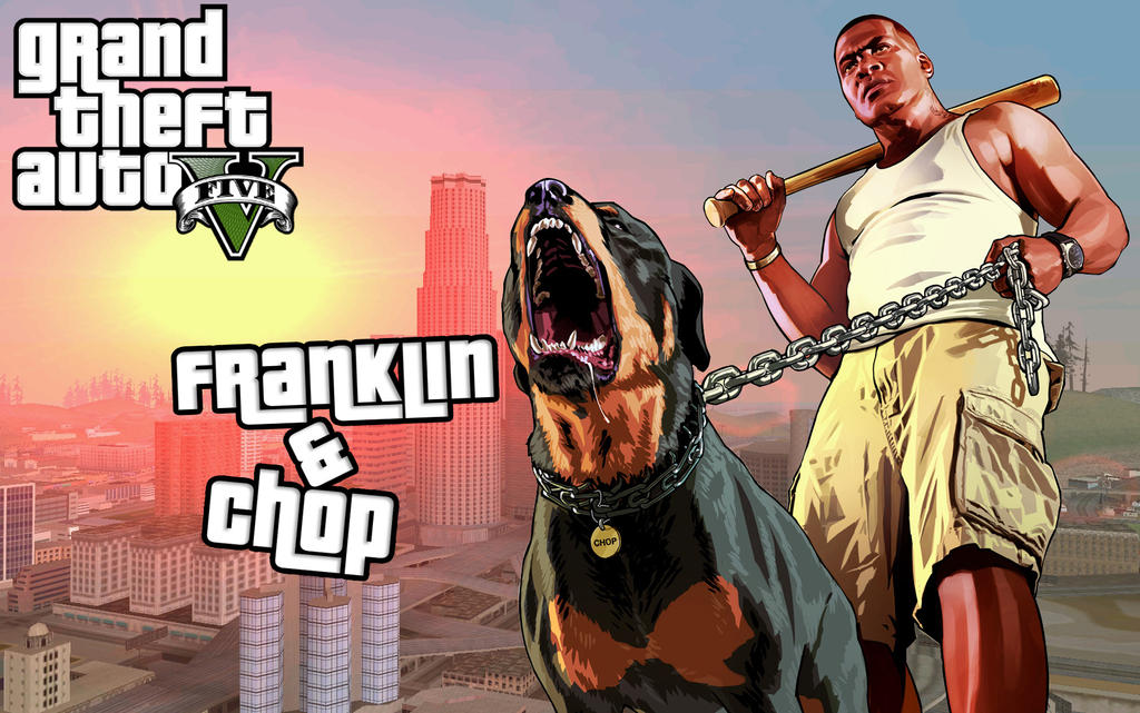 Grand Theft Auto 5 Franklin And Chop by Mr123Spiky on deviantART