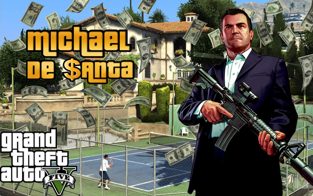 Grand Theft Auto 5 Michael De Santa By Mr123Spiky