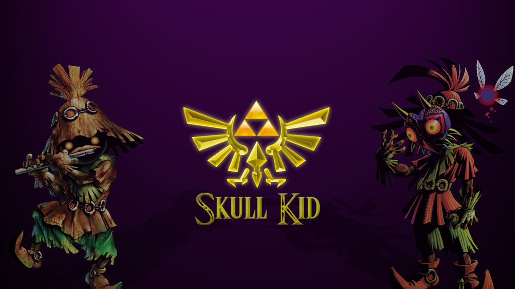 Skull Kid Wallpaper By Mr123Spiky