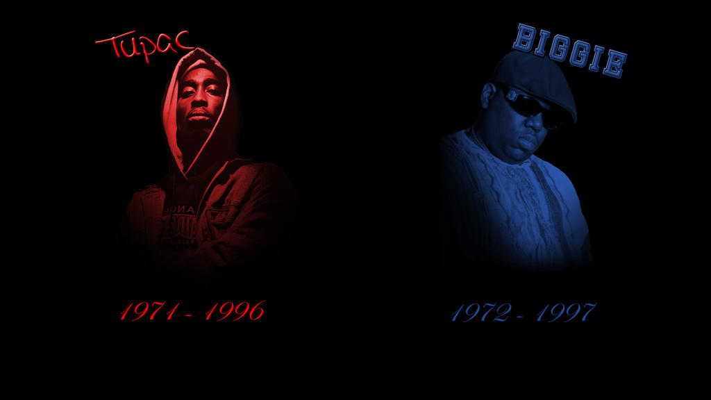 Tupac And Biggie Wallpaper By Mr123Spiky